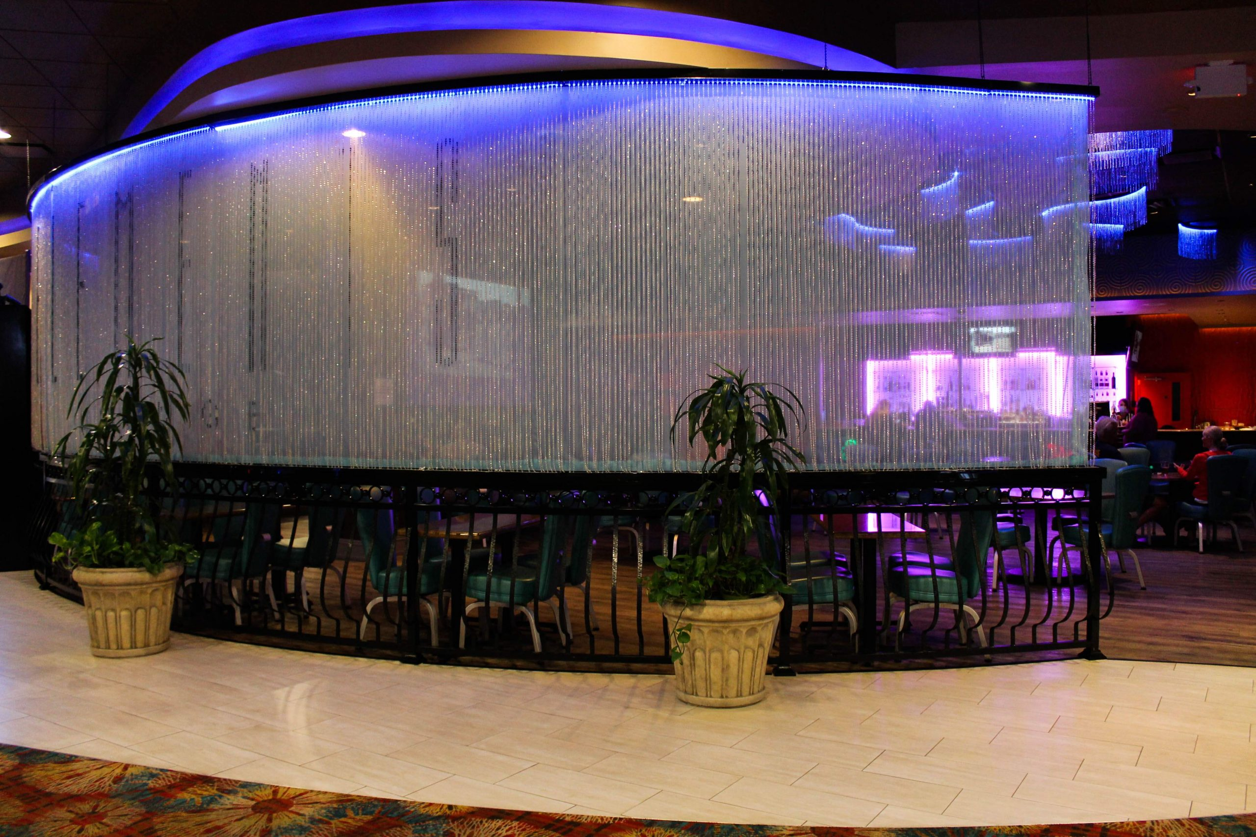 Elements Lounge inside Seven Feathers Casino in Canyonville Oregon
