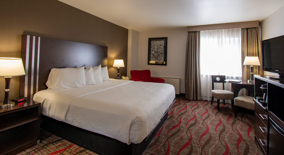 King Rooms In The West Tower At Seven Feathers Casino Resort In Canyonville Oregon