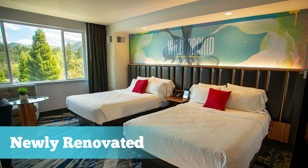 Treat Yourself To Luxury Accommodations At Seven Feathers Casino Resort In Canyonville Oregon With Our Newly Updated East Tower Rooms