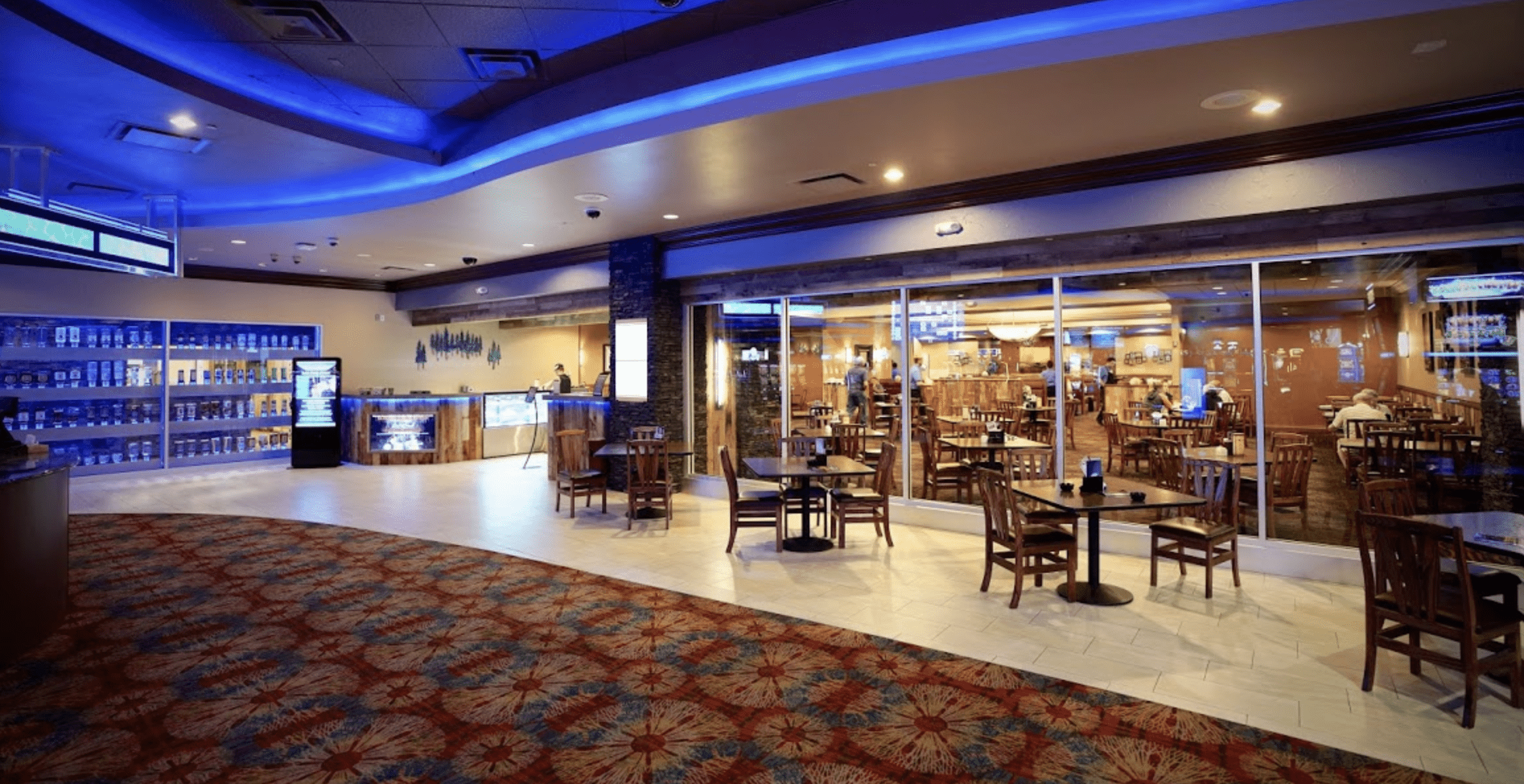 Cow Creek Restaurant Inside Seven Feathers Casino in Canyonville Oregon
