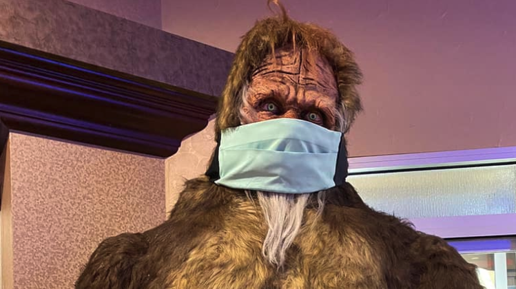 Big Foot Says Update Your Email Address To Receive Email Offers From Seven Feathers Casino Resort In Canyonville Oregon