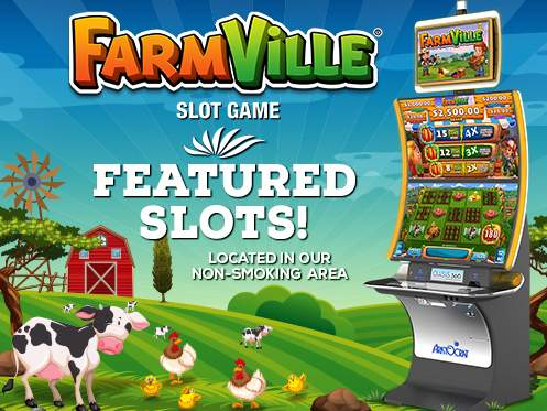 Play Farmville By Aristocrat At Seven Feathers Casino Resort In Canyonville Oregon