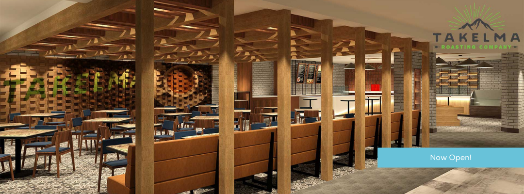 Dine At The New Takelma Roasting Company Restaurant Inside Seven Feathers Casino Resort